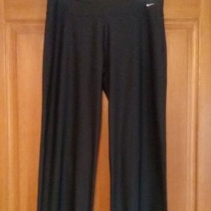 Nike dri fit wide leg yoga/training pants